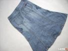 Gersha Jeans Dżinsowa spódnica Haftowana Midi 36 - 4