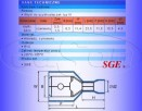 Konektor izolowany 1,5-2,5mm do złączek T SGE 5szt - 2