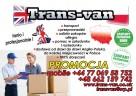 TRANS-VAN paczki przeprowadzki Polska-Anglia - 2