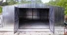 Garaże blaszane Garaż blaszany Blaszak 5x7 WDUSPAD OCYNK - 5