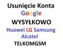 Odblokowanie Reset Usuwanie Konta Google FRP Huawei, Samsung