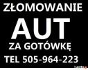 ZŁOMOWANIE KASACJA SKUP AUT TEL.505964223 LAWETA DARMOWA - 1