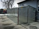Garaż blaszany 2 x 3 m,dwuspadowy,drewnopodobny,producent - 4