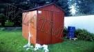 Garaż blaszany 2 x 3 m,dwuspadowy,drewnopodobny,producent - 3