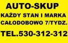AUTO-ZŁOM TEL.501-525-515 ZŁOMOWANIE SAMOCHODÓW KASACJA 24/H - 2