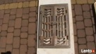 Ażurowe żeliwne secesyjne drzwiczki, piec,kominek gril
