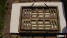 Ażurowe żeliwne secesyjne drzwiczki,piec,kominek gril - 6