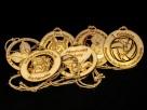 Drewniany medal - śr. 10cm ze sznurkiem