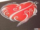 Serce ręcznie rzeźbione w blasze Oryginalny prezent na urodz - 2