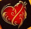 Serce ręcznie rzeźbione w blasze Oryginalny prezent na urodz - 4