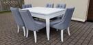 Krzesło pikowane modne glamour chesterfield Producent nowe - 3