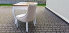 Krzesło pikowane modne glamour chesterfield Producent nowe - 2