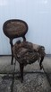 Oryginalne damskie krzesło Ludwik Filip XIX wiek !!! Okazja - 1