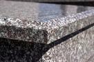 NAGROBEK granitowy najniższa cena - podwójny - 2