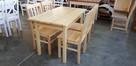 Krzesło twarde sosnowe Producent nowe kuchnia restauracja - 2