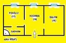 Zamienimy m3(47) z c.o. na M2 lub M3 w Blokach komunalnych - 2