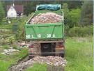 Czarnoziem żwir Transport  wywrotką gruz piasek ziemia - 4