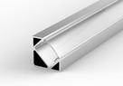 PROFIL LED Kątowy/Narożny Aluminiowy + KLOSZ 2mb - 4