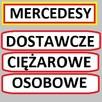 Skup MERCEDES 124,190,SPRINTER,KACZKA i inne ciężarowe