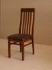Stół z litego drewna 160 cm/90 rozkł. do 250cm i 8 krzeseł - 3