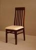 Stół z litego drewna 160 cm/90 rozkł. do 250cm i 8 krzeseł - 4