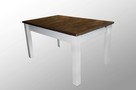 Stół 2 kolory z litego drewna 160/90 roz. na 250 cm