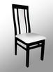 Stół z litego drewna 160 cm/90 rozkł. do 250cm i 8 krzeseł - 7