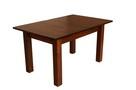 Stół z litego drewna 160 cm/90 rozkł. do 250cm i 8 krzeseł - 2