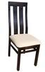 Stół z litego drewna 160 cm/90 rozkł. do 250cm i 8 krzeseł - 6