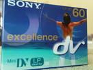 Kasety do kamery MiniDv Sony excellence o symbolu DVM60EX3 - 1