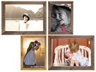 RAMA DREWNIANA na obraz zdjęcie foto 50x68cm A2 - 4
