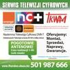 Anteny TV SAT montaż, serwis, naprawa 501987666 - 1
