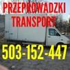 PRZEPROWADZKI TRANSPORT!! PRZEWÓZ