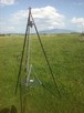 Grill trójnóg 230 cm regulowany - 1