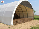 konstrukcja stalowa hala tunelowa magazyn 15x20