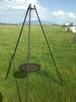 Grill trójnóg 215 cm regulowany - 1