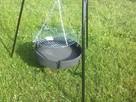 Grill trójnóg 215 cm regulowany z paleniskiem - 3