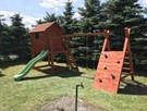 Płac zabaw dla dzieci z domkiem - 2