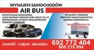 wypożyczalnia samochodów i przyczep Przewóz osób wynajem bus