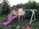 Płac zabaw dla dzieci z domkiem - 3