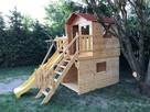 Płac zabaw dla dzieci z domkiem - 6