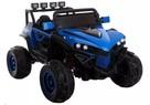 Auto na Akumulator Niebieski duzy JEEP zabawka dla dzieci cz - 1