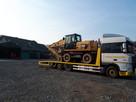 Transport koparek maszyn