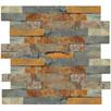 panel kamienny Stackstone Łupek Multicolor 36x10x0,8-1,3 cm - 2