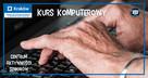 Bezpłatne zajęcia komputerowe - Kraków dla osób 60+