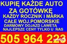 Skup Aut t.505964223 Wejherowo ZŁOMOWANIE Luzino, Gościcino - 4