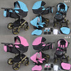 Wózek Dziecięcy Gold Premium 3w1 z fotelikiem babeboss - 5