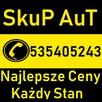 Skup Aut tel.535405243 Kościerzyna,, Skarszewy,Skórcz