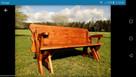 Ławka rozkładana, ławko-stół, 2w1, ławka ogrodowa