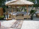 Parasol ogrodowy, parasol plażowy, parasol tropikalny, Hawaj - 4